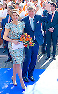 25-4-2014 DE RIJP - The first kings day of King Willem alexander and Queen maxima in the Rijp and Amstelveen . With Princess beatrix  , Pieter van Vollenhoven Princess Margriet Prince Constantijn Princess Laurentien  COPYRIGHT ROBIN UTRECHT