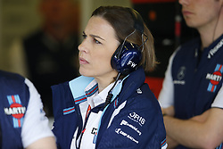 March 24, 2018 - Melbourne, Victoria, Australia - Motorsports: FIA Formula One World Championship 2018, Melbourne, Victoria : Motorsports: Formula 1 2018 Rolex  Australian Grand Prix,     Claire Williams (GBR) Williams Deputy Team Principal  (Credit Image: © Hoch Zwei via ZUMA Wire)