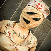 Émilie Bédard from Québec as a Silent Hill zombie character at Montreal Otakuthon 2012.