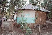 Africa, Ethiopia, Gondar, Wolleka village, The Beta Israel (the Jewish community) synagogue