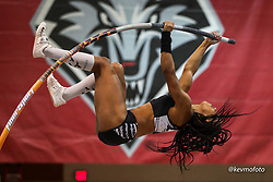 2020 USATF Indoor Championship<br /> Albuquerque, NM 2020-02-15<br /> photo credit: © 2020 Kevin Morris<br /> womens pole vault, Oiselle, NYAC,
