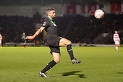 Stoke City forward Jonathan Walters ties to control the ball  during the The FA Cup third round match between Doncaster Rovers and Stoke City at the Keepmoat Stadium, Doncaster, England on 9 January 2016. Photo by Simon Davies.