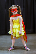 "Sophie Ayger, 4, of Los Gatos as ""Princess Super Hero"" at Silicon Valley Comic Con in San Jose, Calif., on Sunday, March 20, 2016."