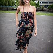 """NLD/Amsterdam/20130626 - Uitreiking Jackie""""s Best Dressed 2013, Touriya Haoud"""