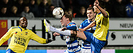 Voetbal Leeuwarden Eredivisie 2014-2015 SC Cambuur - PEC Zwolle: L-R Ben Rienstra van PEC Zwolle