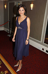 TV newsreader NAZANINE MOSHIRI at the 10th Anniversary Asian Business Awards 2006 at the London Grosvenor Hotel Park Lane, London on 19th April 2006.<br />