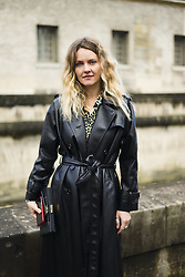March 4, 2018 - Paris, France - Ekaterina Mukhina is seen during Paris Fashion Week Womenswear Fall/Winter 2018/2019, on March 4, 2018 in Paris, France. (Credit Image: © Nataliya Petrova/NurPhoto via ZUMA Press)