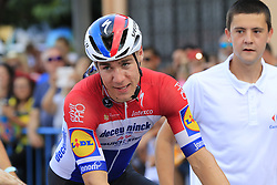 Dutch Champion Fabio Jakobsen (NED) Deceuninck-Quick Step is declared the winner after a photo finish at the end of Stage 4 of La Vuelta 2019 running 175.5km from Cullera to El Puig, Spain. 27th August 2019.<br /> Picture: Eoin Clarke | Cyclefile<br /> <br /> All photos usage must carry mandatory copyright credit (© Cyclefile | Eoin Clarke)