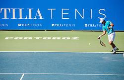 Dmitry Popko of Kazakhstan during 1st Round of ATP Challenger Tilia Slovenia Open 2016, on August 8, 2016 in Portoroz/Portorose, Slovenia. Photo by Vid Ponikvar / Sportida