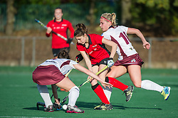 Southgate v Wimbledon - Investec Women's Hockey League, East Conference, Trent Park, London, UK on 13 November 2016. Photo: Simon Parker