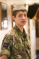 Danny Scullion..Exercise Guards Warrior with the Scots Guards at their Catterick base..Pic ©2010 Michael Schofield. All Rights Reserved.