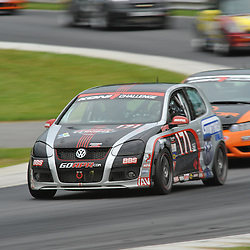 May 23, 2009; Lakeville, CT, USA; The APR Motorsport Volkswagen GTI driven by Ian Baas and Josh Hurley races in the Grand-Am Koni Sports Car Challenge series competition during the Memorial Day Road Racing Classic weekend at Lime Rock Park.