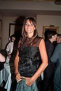 DEBBIE VON BISMARCK, Dinner hosted by Elizabeth Saltzman for Mario Testino and Kate Moss. Mark's Club. London. 5 June 2010. -DO NOT ARCHIVE-© Copyright Photograph by Dafydd Jones. 248 Clapham Rd. London SW9 0PZ. Tel 0207 820 0771. www.dafjones.com.