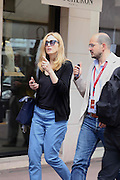 JULIE GAYET ON THE CROISETTE - CANNES FILM FESTIVAL 68th - <br /> Julie hit the headlines few years back for her affair with Francois Hollande's<br /> ©Exclusivepix Media