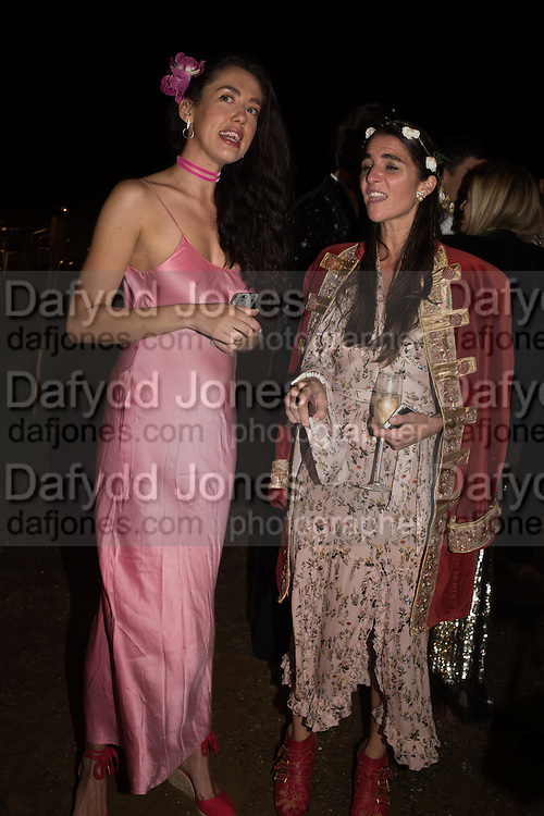 ROSA-SAHAH CONNELL; CELESTINE COONEY, Bella Howard 30th birthday, Castle Howard, Dress code: Flower Fairies and Prince Charming, 3 September 2016