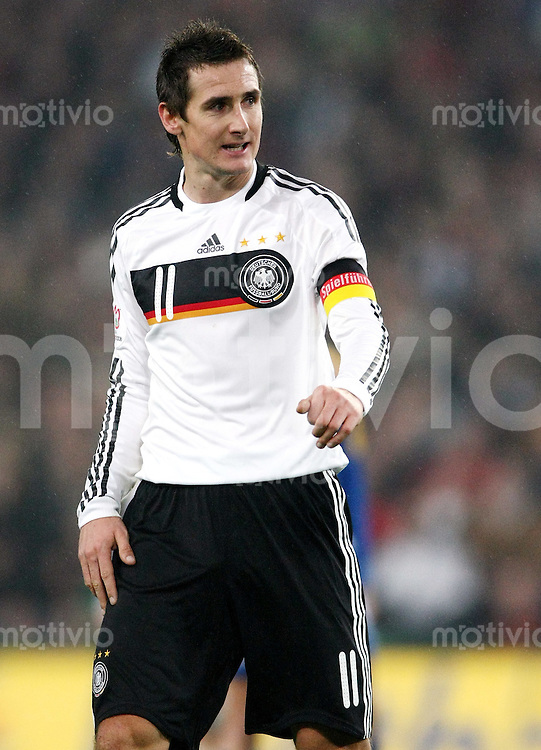 FUSSBALL  INTERNATIONAL  DEUTSCHE NATIONALMANNSCHAFT Miroslav KLOSE (Deutschland)