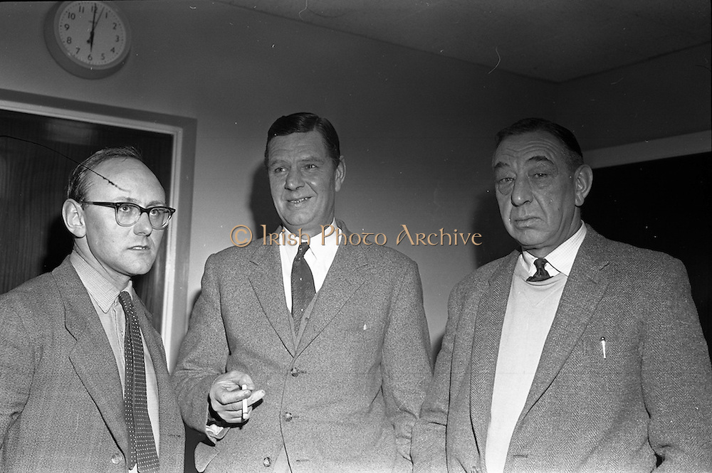 04/02/1963<br /> 02/04/1963<br /> 04 February 1963<br /> Directors of  Merville Dairy's at Merville Dairy's, Finglas, Dublin. Mr. Eric Craigie, Managing Director in centre.