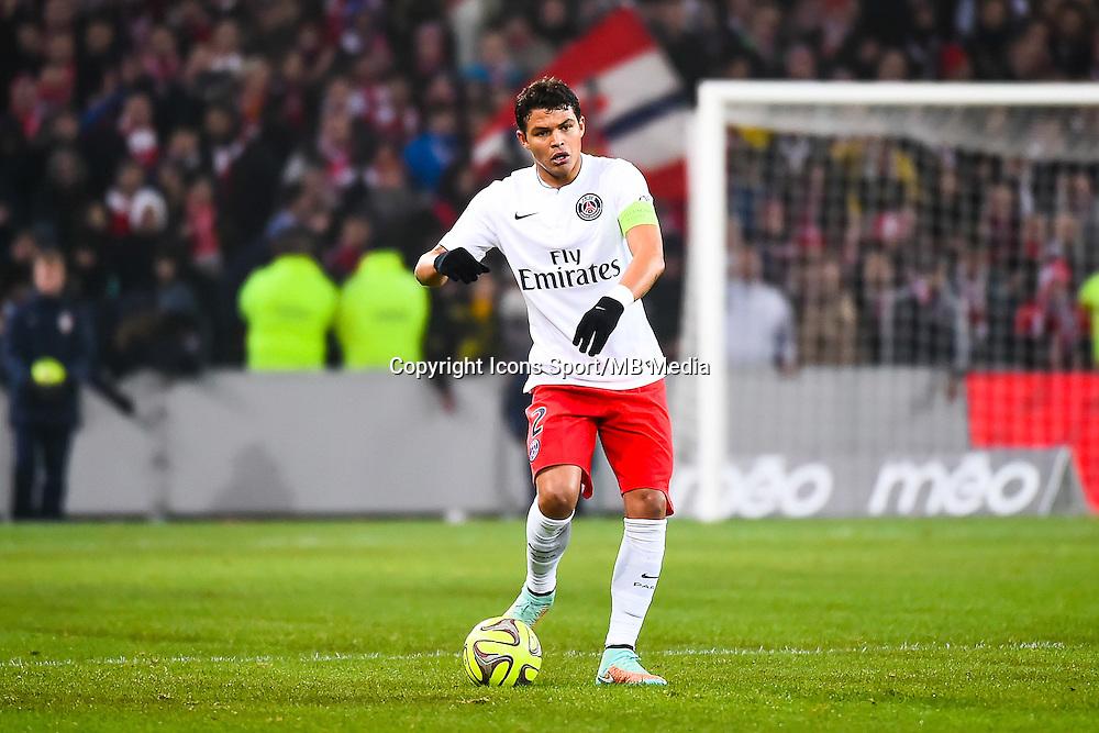 Thiago SILVA - 03.12.2014 - Lille / Paris Saint Germain - 16eme journee de Ligue 1 -<br />Photo : Fred Porcu / Icon Sport