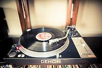Vintage Denon Record Player