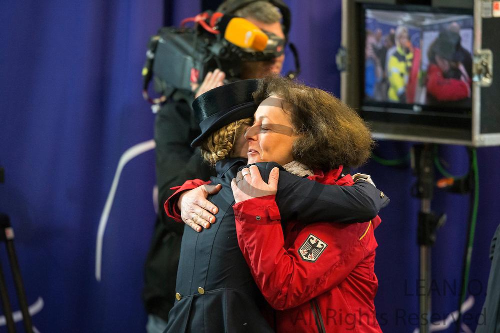 Helen Langehanenberg - Damon Hill NRW winner Reem Acra FEI World Cup Final<br /> Reem Acra FEI World Cup Final 2013<br /> &copy; DigiShots