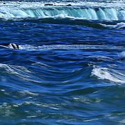 &quot;Niagara's Deep Blues&quot;<br /> <br /> Beautiful blue hues of the Niagara River and Falls.