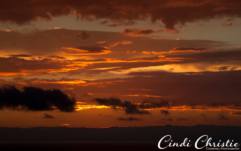 A break in the rain yields a spectacular sunset seen from Newport Coast, Calif., on Oct. 20, 2010. ] (© 2010, Cindi Christie/Cyanpixel Photography)