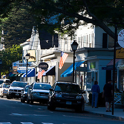 Main Street in Essex, Connecticut.