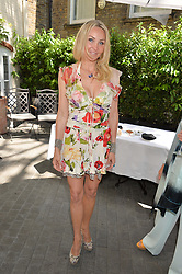 HEATHER BIRD-TCHENGUIZ at a ladies lunch at Toto's, Walton Street, London on 12th June 2014.