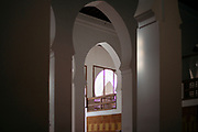 Al-Kairouine Mosque and University, Fez Medina, Morocco, 2018-02-01.<br /> <br /> Established at the very beginnings of Morocco's oldest imperial city, the University of Al-Karaouine (also written as Al-Quaraouiyine and Al-Qarawiyyin) was founded in 859 and is considered by Unesco and the Guinness Book of World Records to be the oldest continually operating university in the world.