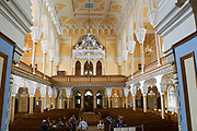 Interior of the Grand Choral Synagogue of St. Petersburg (1888), Saint Petersburg, Russia