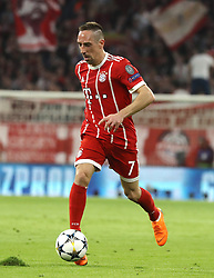11.04.2018, Allianz Arena, Muenchen, GER, UEFA CL, FC Bayern Muenchen vs Sevilla FC, Viertelfinale, R&uuml;ckspiel, im Bild Franck Ribery // during the UEFA Champions League Quarterfinal, 2nd leg Match between FC Bayern Muenchen vs Sevilla FC at the Allianz Arena in Muenchen, Germany on 2018/04/11. EXPA Pictures &copy; 2018, PhotoCredit: EXPA/ SM<br /> <br /> *****ATTENTION - OUT of GER*****