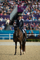 Puch Pepo (AUT) - Fine Feeling<br /> Team Test - Grade Ib - Dressage <br /> London 2012 Paralympic Games<br /> © Hippo Foto - Jon Stroud