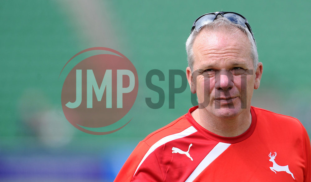 Nottinghamshire's Head Coach Mick Newell. - Photo mandatory by-line: Harry Trump/JMP - Mobile: 07966 386802 - 14/06/15 - SPORT - CRICKET - LVCC County Championship - Division One - Day One - Somerset v Nottinghamshire - The County Ground, Taunton, England.