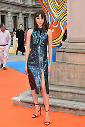 Stacey Martin at the Royal Academy of Arts Summer Exhibition Preview Party 2017, Burlington House, London England. 7 June 2017.