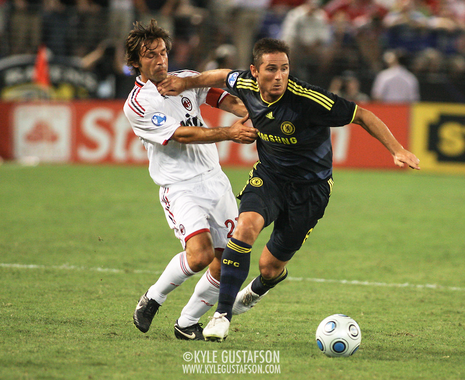 AC Milan vs. Chelsea at M&T Stadium in Baltimore, MD.