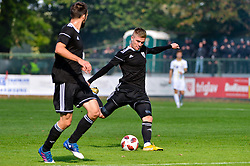 Luka Bobicanec of NS Mura during football match between NS Mura and NK Maribor in 10th Round of Prva liga Telekom Slovenije 2018/19, on September 30, 2018 in Mestni stadion Fazanerija, Murska Sobota, Slovenia. Photo by Mario Horvat / Sportida