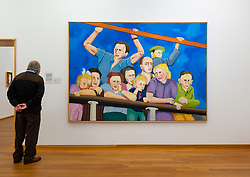 Op Reis by Ad Gerritson at the Gemeentemuseum in The Hague, The Netherlands