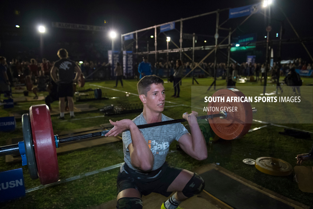 PRETORIA, SOUTH AFRICA - APRIL 28:  during the men's WOD 2 at the Pretoria Throw Down in Waterkloof High School on April 28, 2017 in Pretoria, South Africa. (Photo by Anton Geyser/Gallo Images)