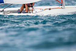World Sailing Emerging Nations Program - Boca Chica Sailing Club, Santo Domingo 08/19/2017 - DAY 2 - Participant in action