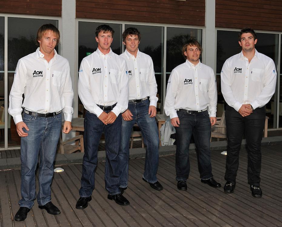 Reuben Corbett and his crew at the opening dinner. Photo:Chris Davies/WMRT