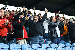 Rotherham United celebrate winning away from home against Portsmouth. Portsmouth 0-1 Rotherham United - Mandatory by-line: Jason Brown/JMP - 03/09/2017 - FOOTBALL - Fratton Park - Portsmouth, England - Portsmouth v Rotherham United - Sky Bet League Two