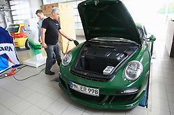 02.06.2011., Zagreb, Croatia - Presentation of electric sports car eRuf Roadster at Centre for safe driving at Micevac. Ruf has ripped the combustion engine out of a Porsche 911 and slotted in an Siemens electric motor. .                                                                                                    Foto ©  nph / PIXSELL       ****** out of GER / SWE / CRO  / BEL ******