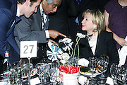 l to r: Congressman Charles B. Rangel and U.S. Secretary of State Hillary Clinton at The Amsterdam News 100th Anniversary Gala held at the David H. Koch Theater at Lincoln Center on November 30, 2009 in New York City. © Terrance Jennings / Retna Ltd.