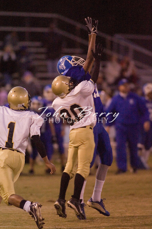 MCHS Freshman Football.vs Manassas Park  .October 25, 2006