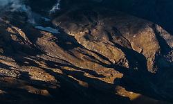 THEMENBILD - die Berglandschaft bei Sonnenaufgang. Die Grossglockner Hochalpenstrasse verbindet die beiden Bundeslaender Salzburg und Kaernten mit einer Laenge von 48 Kilometer und ist als Erlebnisstrasse vorrangig von touristischer Bedeutung, aufgenommen am 15. September 2016, Bruck a. d. Glocknerstrasse, Oesterreich // the mountains at sunrise. The Grossglockner High Alpine Road connects the two provinces of Salzburg and Carinthia with a length of 48 km and is as an adventure road priority of tourist interest at Bruck a. d. Glocknerstrasse, Austria on 2016/09/15. EXPA Pictures © 2016, PhotoCredit: EXPA/ JFK