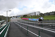 Outside the Brighton Community Stadium before the Japan Captain's Run training session in preparation for the Rugby World Cup at the American Express Community Stadium, Brighton and Hove, England on 18 September 2015.