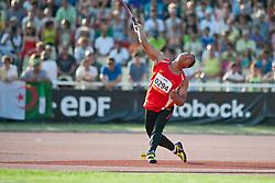 FU Yanlong, CHN, Javelin, F42, 2013 IPC Athletics World Championships, Lyon, France