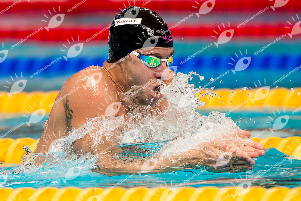PEREIRA Thiago BRA<br /> 200 Medley Men Heats<br /> Swimming - Kazan Arena<br /> Day13 05/08/2015<br /> XVI FINA World Championships Aquatics Swimming<br /> Kazan Tatarstan RUS July 24 - Aug. 9 2015 <br /> Photo A.Masini/Deepbluemedia/Insidefoto