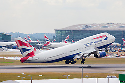 © under license to London News Pictures.FILE PHOTO British Airways Boeing 747 Aircraft at London Heathrow<br /> <br /> Photo credit should read IAN SCHOFIELD/LNP