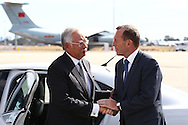 PERTH, AUSTRALIA - APRIL 03:  Australian Prime Minister Tony Abbott (R) farewells Malaysian Prime Minister Najib Razak after his visit to Perth during the search of missing Malaysia Airlines flight MH370 at Perth International airport on April 3, 2014 in Perth, Australia. The search continues off the Western Australian coast for Malaysia Airlines flight MH370 that vanished on March 8 with 239 passengers and crew on board. The flight is suspected to have crashed into the southern Indian Ocean with no survivors.  (Photo by Paul Kane/Getty Images)